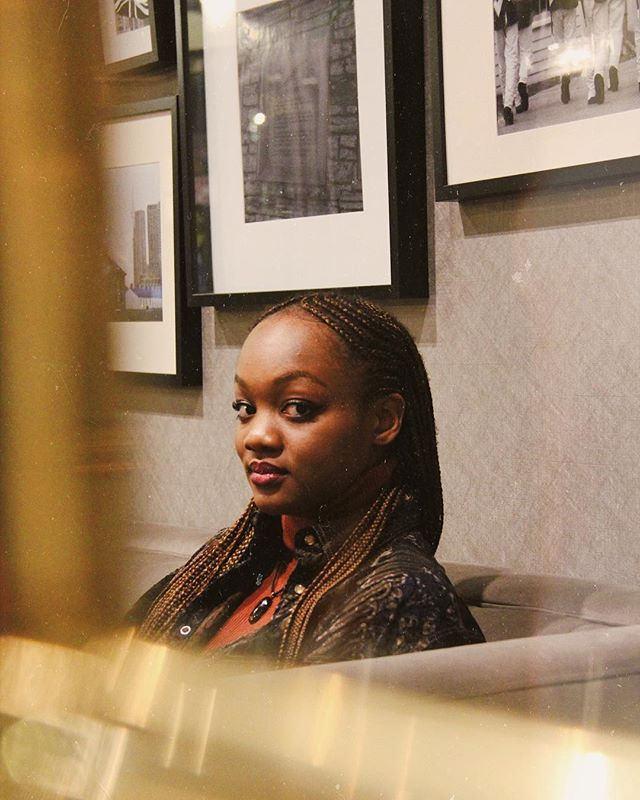 never got around to posting these photos of @sosa.yande eye took a couple months back when she came thru to toronto. she makes amazing art, go peep her work 💫 . . . . . . . . . . . . . #thegunnavision #art #sosayande #photography #artist #visualart #artoftheday #torontoartist