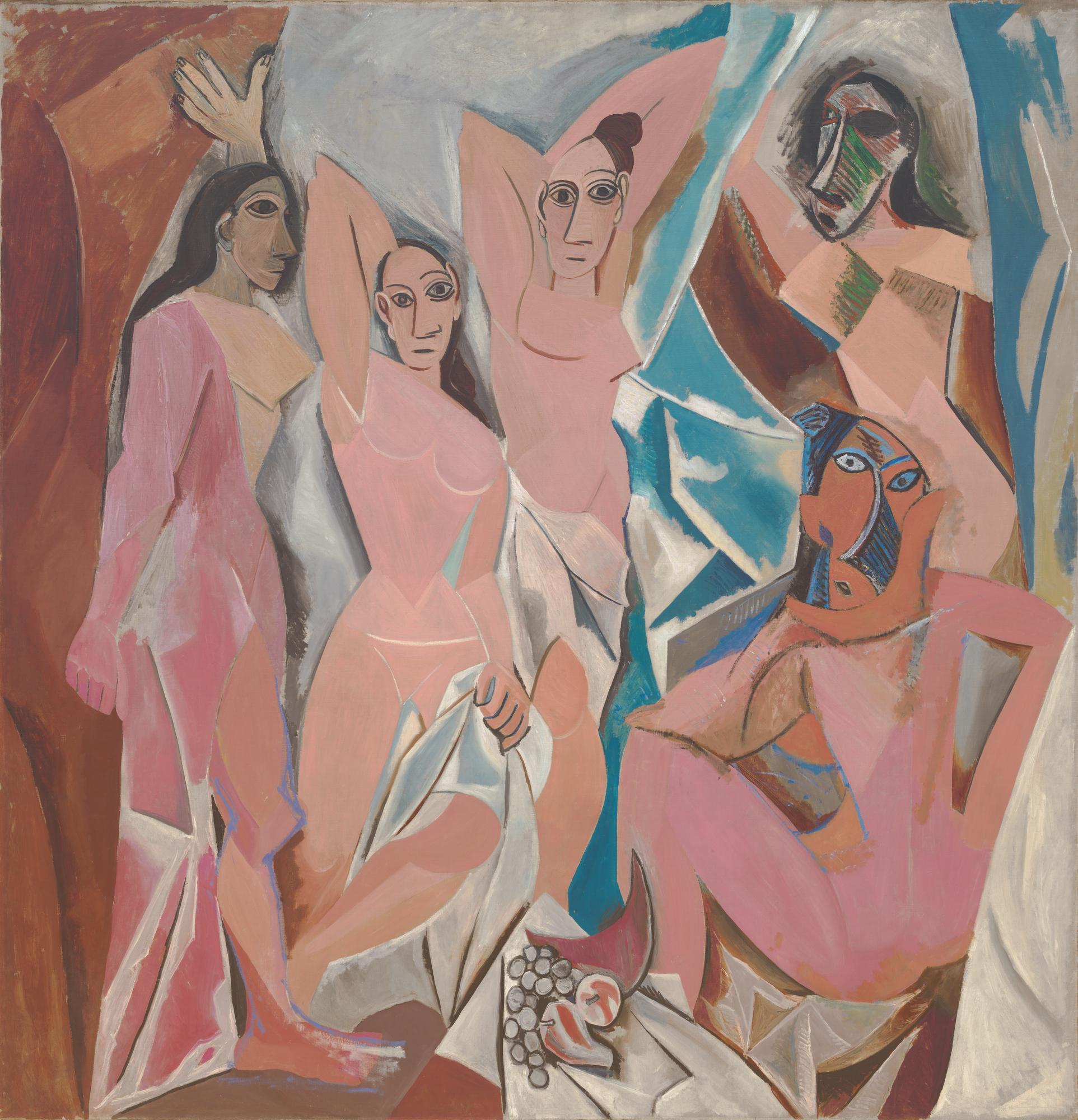 Les Demoiselles d'Avignon  — Pablo Picasso, 1907