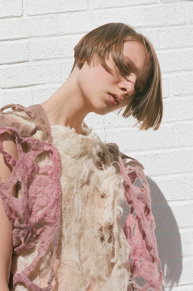 Nica Rabinowitz felted fashion
