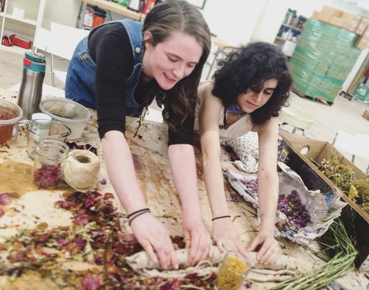 fiberhouse collective natural dyes workshop