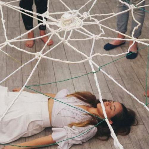 Zaida Adriana Goveo Balmaseda   Textile Artist   Zaida will continue her exploration of movement, meditation, and lacemaking