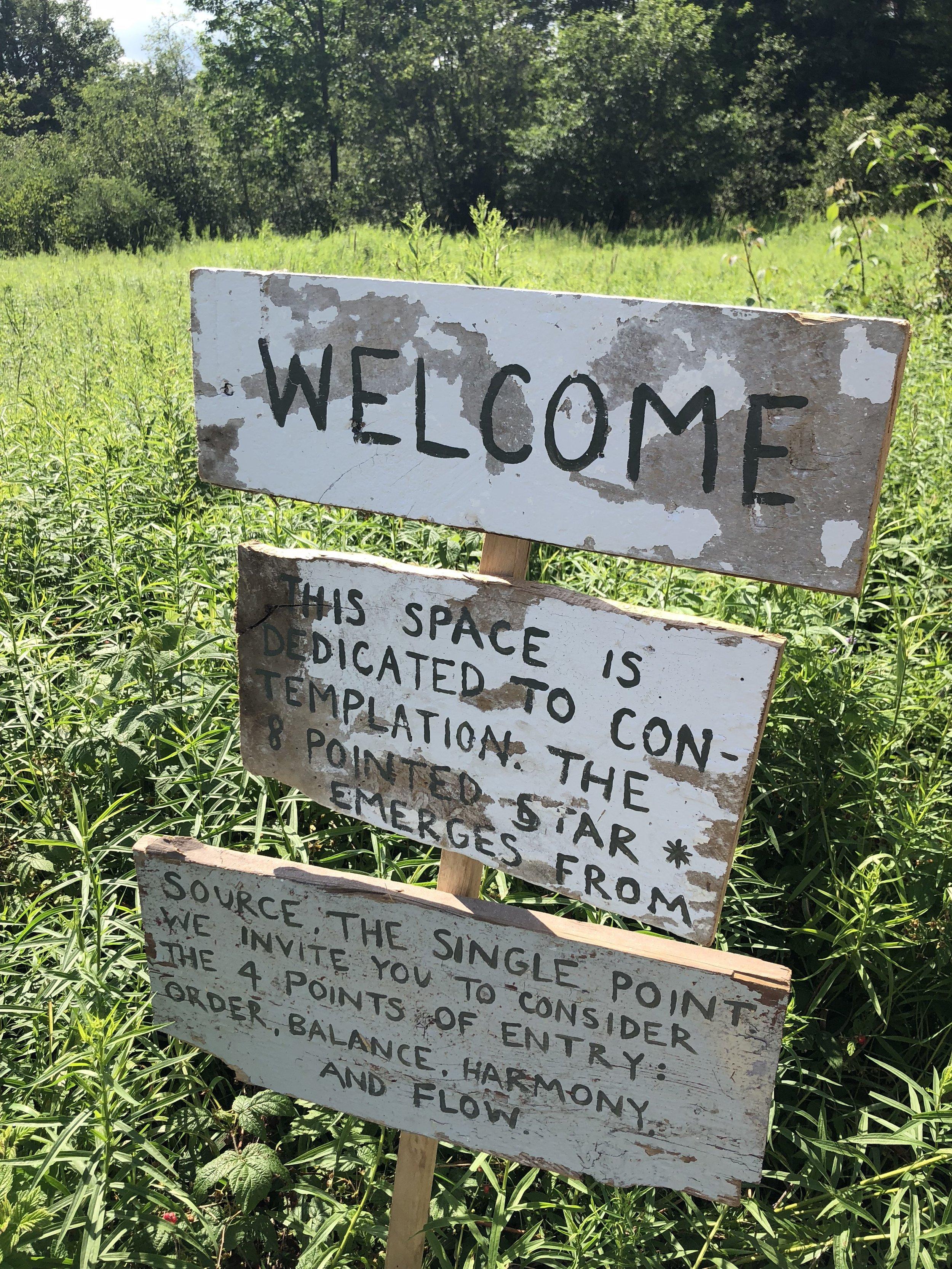 fiberhouse collective succurro sanctuary sign