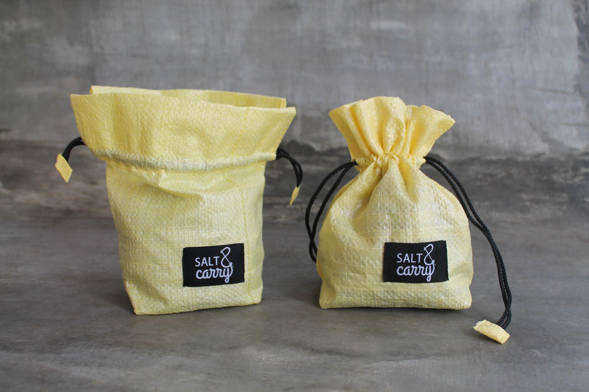 "Altered ""Salt & Carry"" label for collaboration with natural sea salt producer"