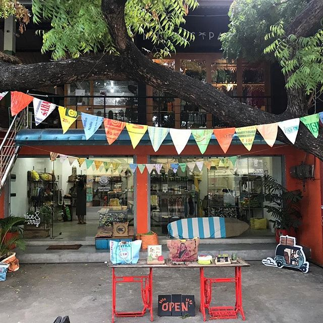 Our shop in Arugam Bay is fully stocked and open until 10pm every day.  #arugambay#surf#surfsrilanka#conscioussurfer #holiday#souvenirwithlove#lovesrilanka#supportthecommunity#womenempowerment#fairtrade#recylce#conscioustravel
