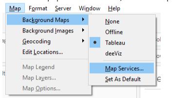 Tableau-Map Integration