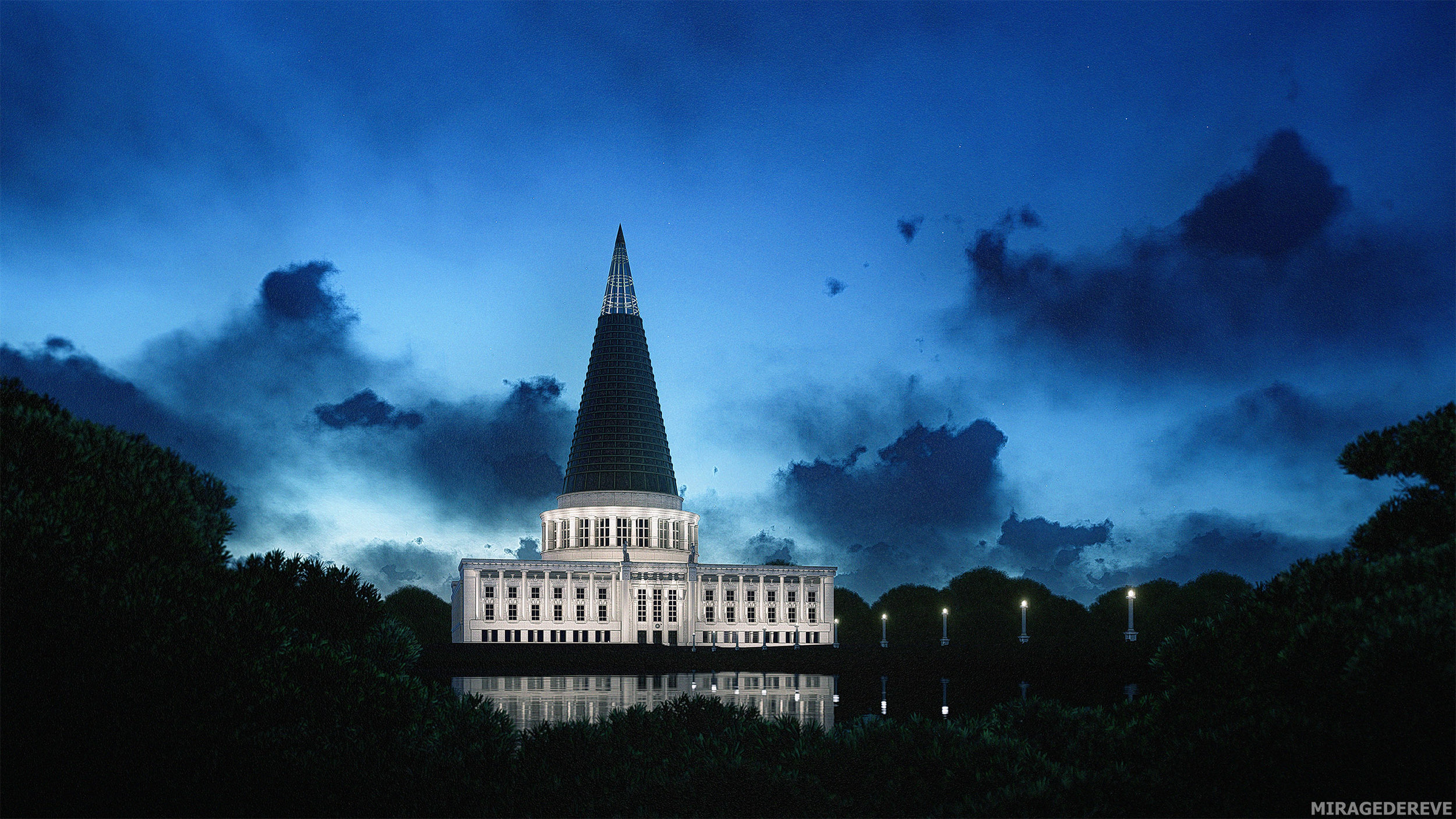 IMAGE 006:  Cathedral of Freedom, exterior 001