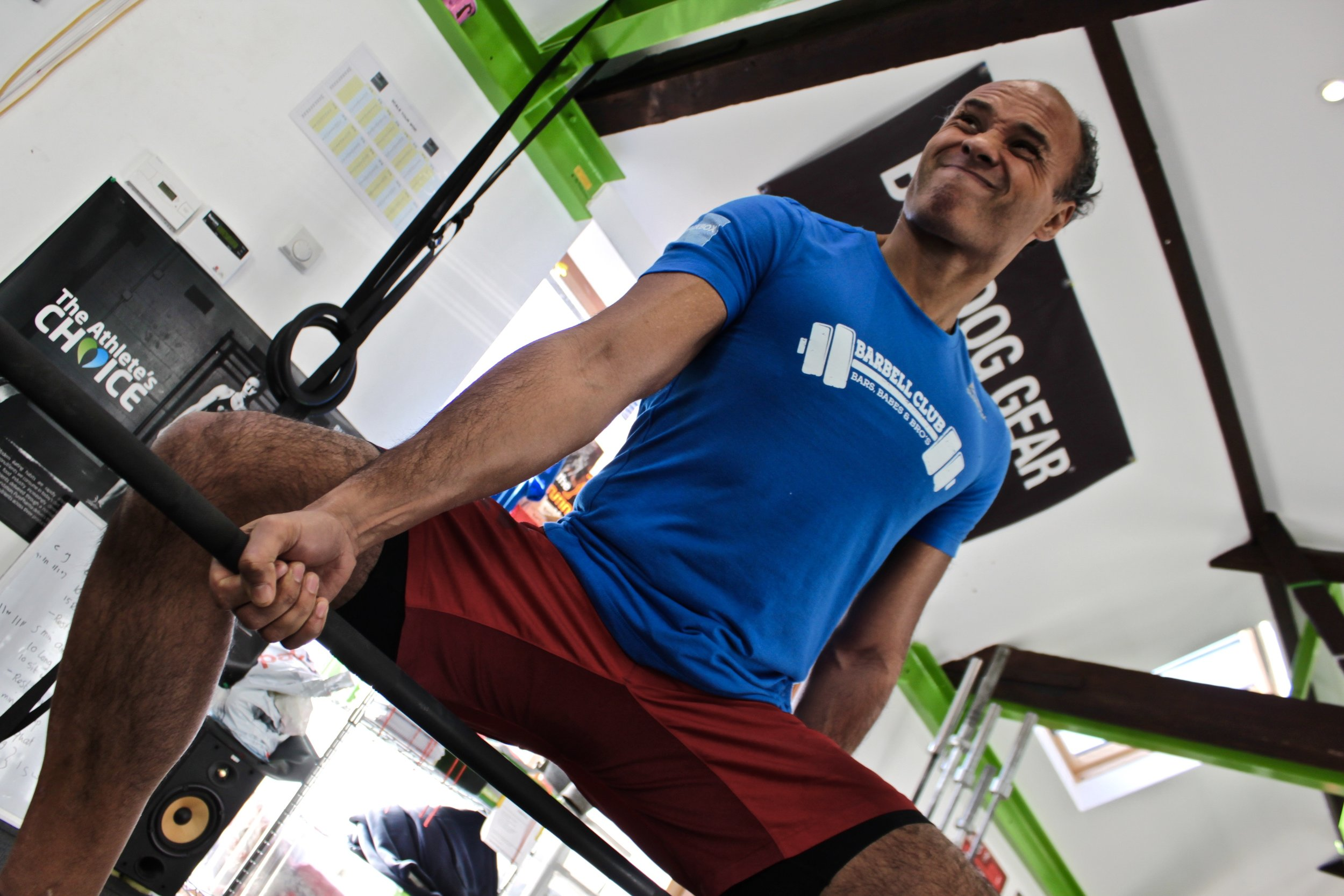 Coach Iskandar:  Started CrossFit in 2012. Combines his athletic life with an office job.Got a passion to create better moving humans. CrossFit Level 1, CrossFit Level 2, CrossFit Mobility, British Weight Lifting Coaching Level 1, British Weight Lifting Coaching Level 2, StrongFit follower, CrossFit Endurance.