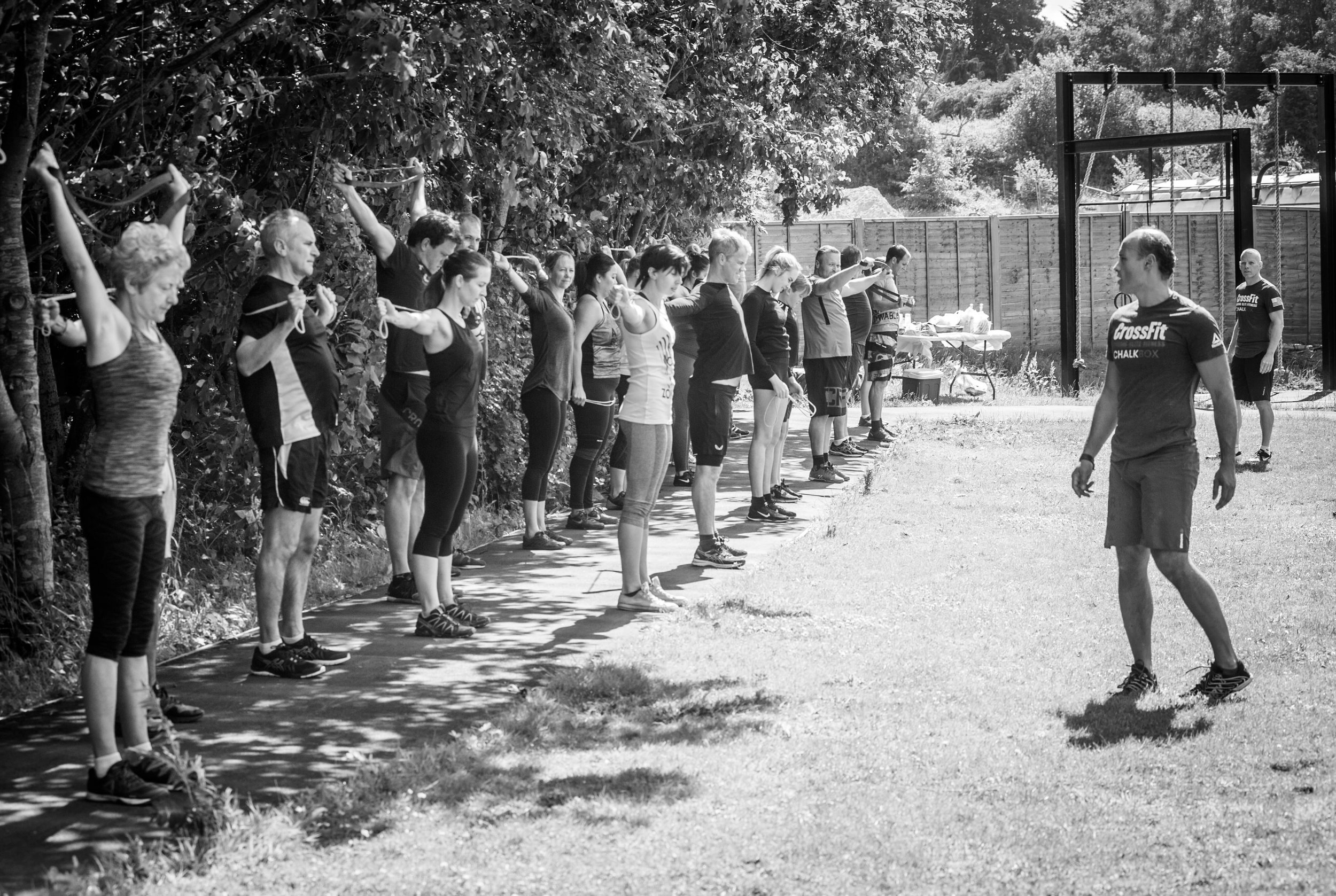 Outdoor Fitness ChalkBox Kent