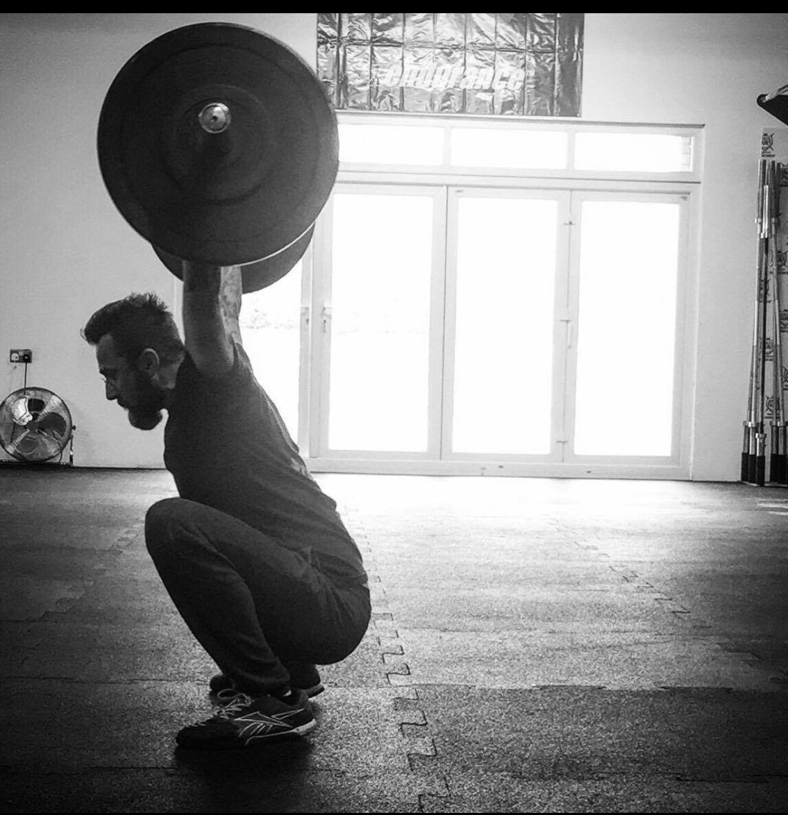 CrossFit is my passionI live and breathe it. - If you ask me why I CrossFit? My answer is simple:I want to be healthy for my kids.I want to be able to walk by myself when I'm 70+