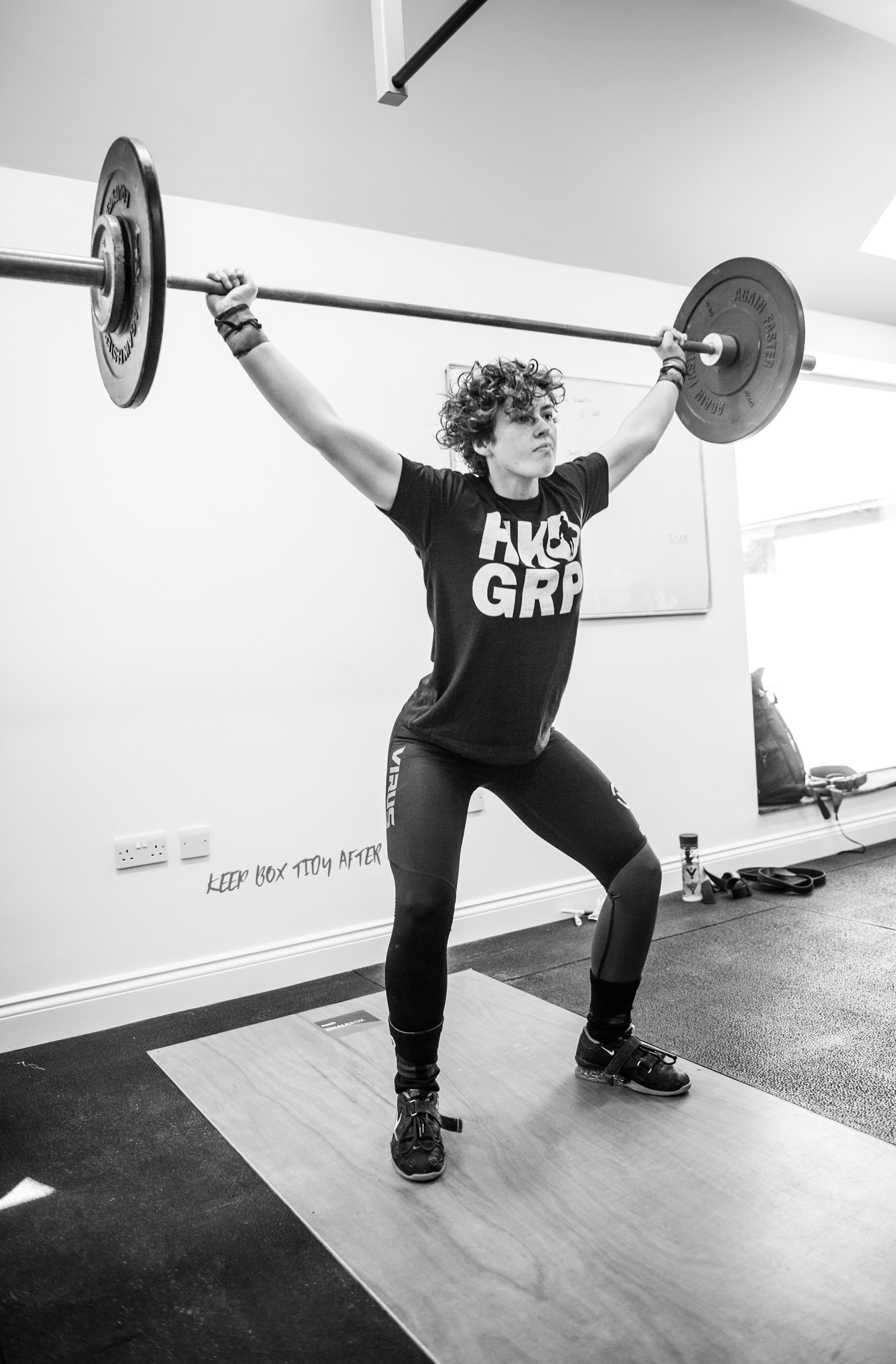Olympic Weight Lifting ChalkBox Sevenoaks Kent