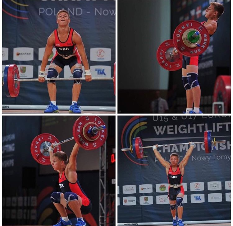 Skip Callard - Skip, 17 years old, is a competitive weightlifter and competes at international competitions such as European and World Youth Championship.Skip will be assisting in our classes.