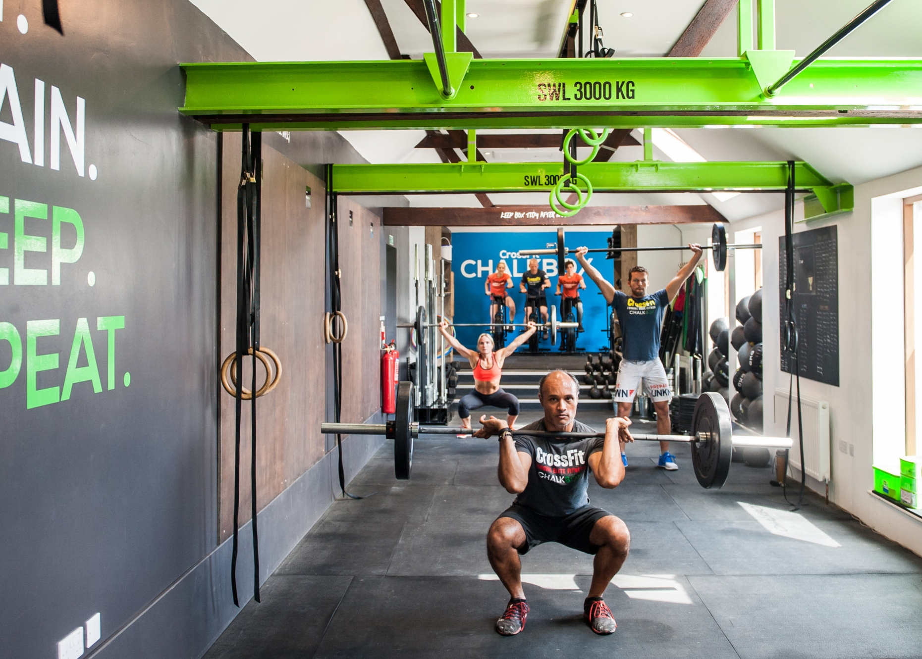 TEAM CHALKBOX:  We are real life people with a passion for fitness and ChalkBox. Our goal is to help you achieve your goals in- and outside the gym.