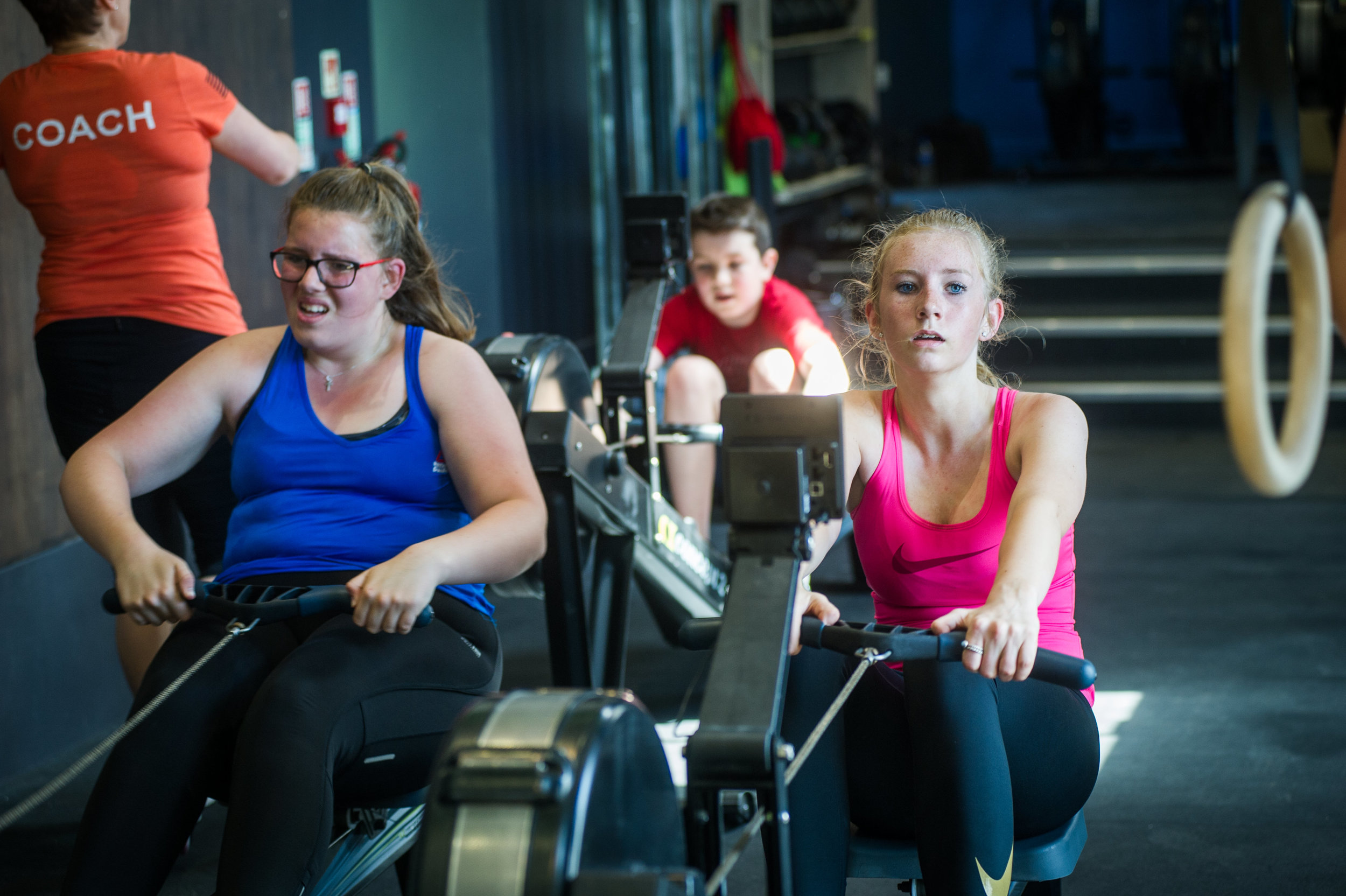 CrossFit Teens session