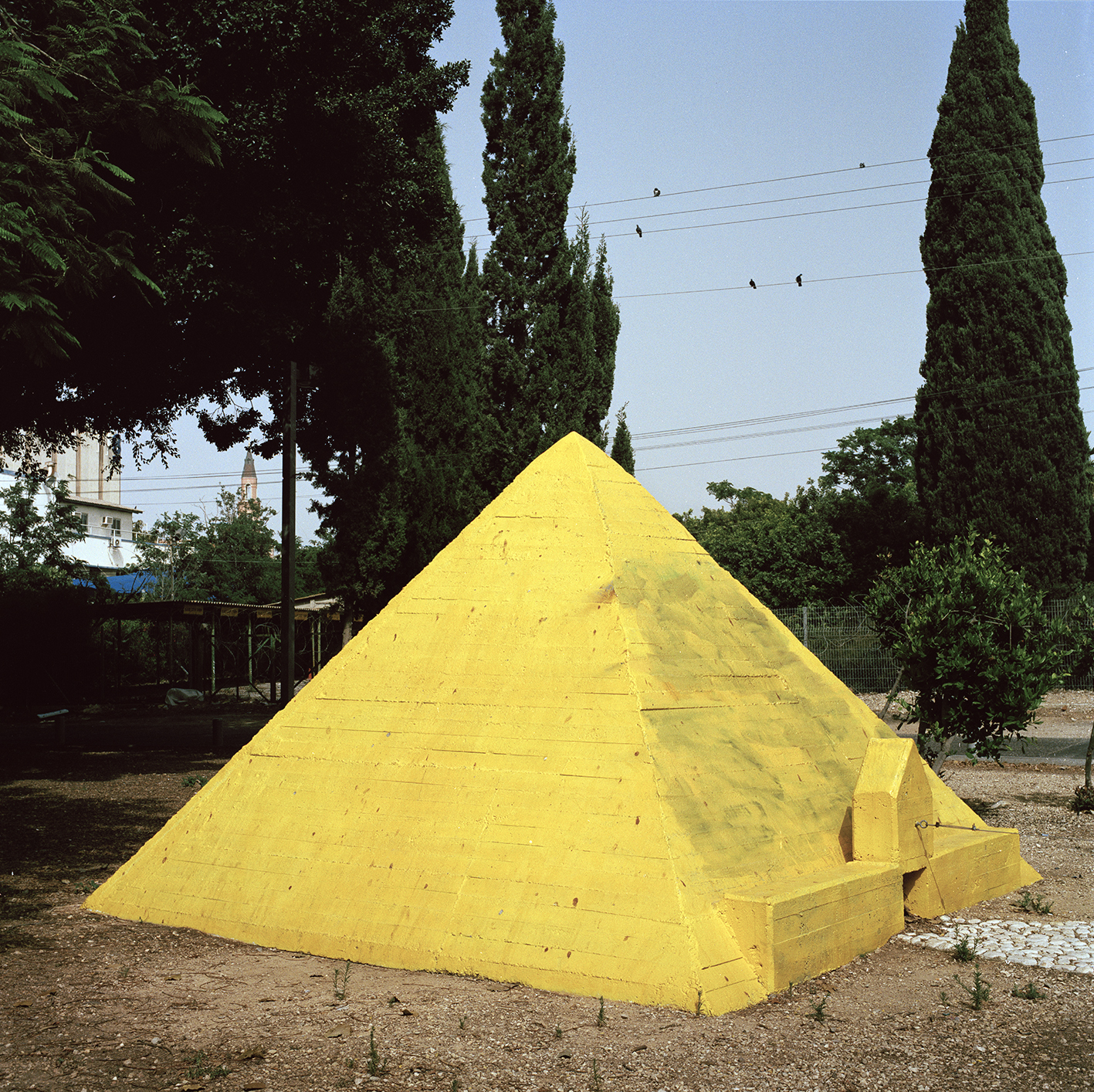 Yellow Pyramid E4