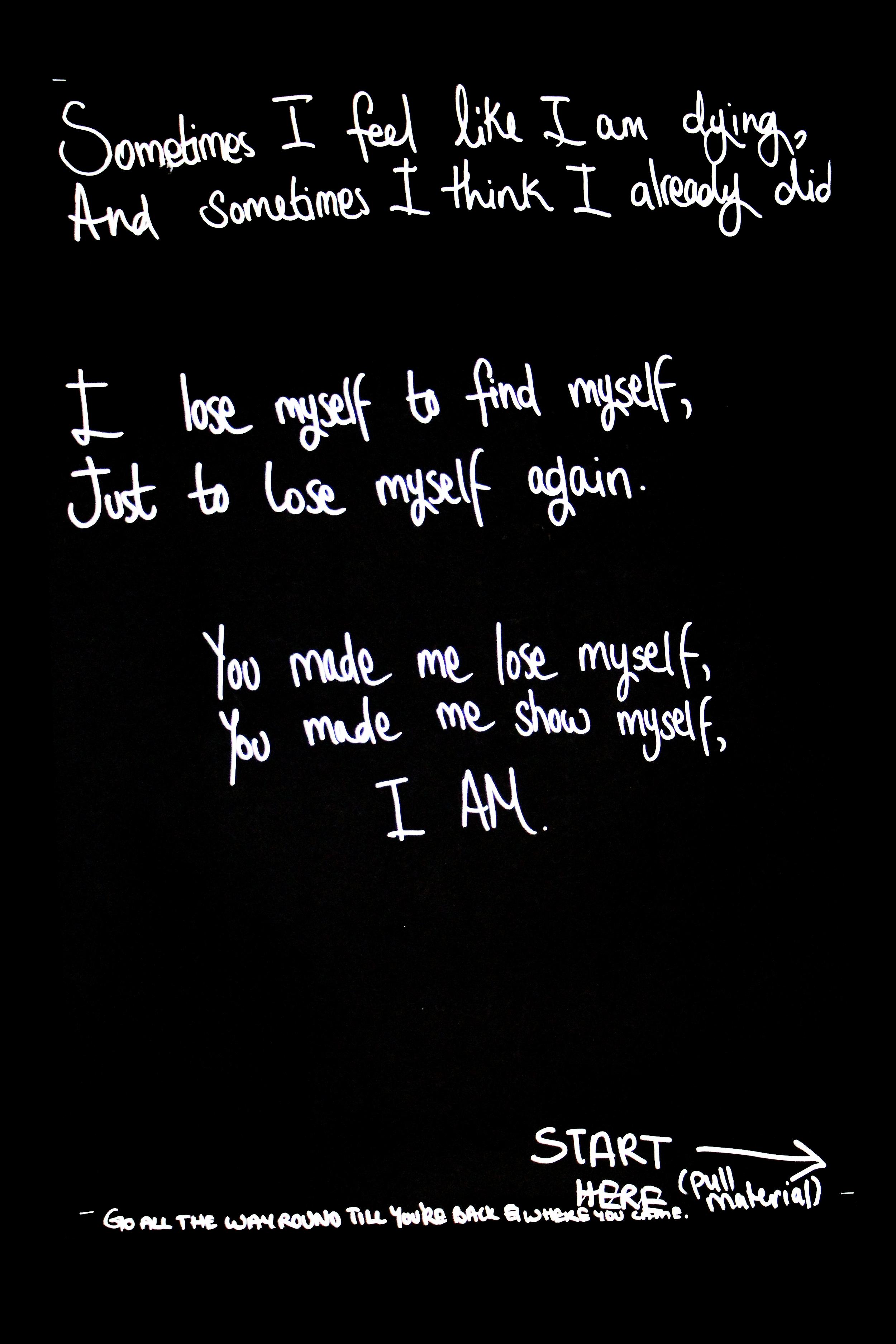 I Am, [2014]
