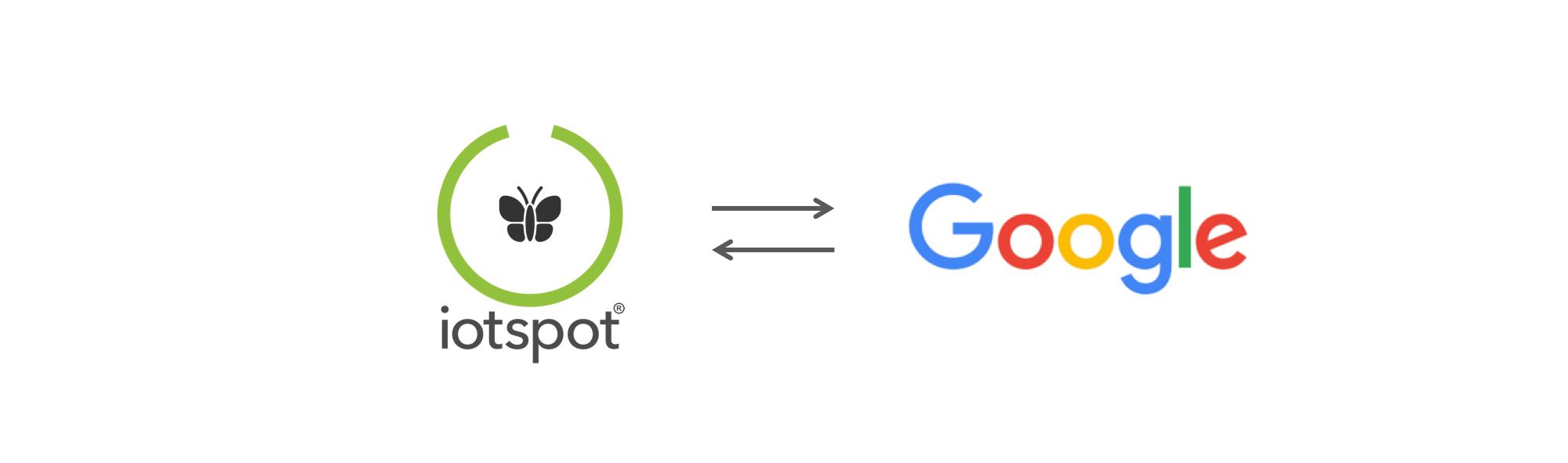 7. Integratie met Google Calendar - Het synchroniseren van kamerreserveringen tussen iotspot en de agenda-applicatie van Google for Work wordt mogelijk met deze feature.Configuratie en jaarprijs gebaseerd op custom aanvraag