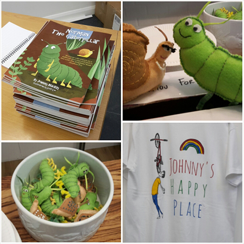 Norman the Caterpillar Book Launch