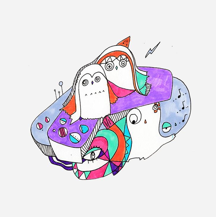 Deep Like - Dubai   Illustration