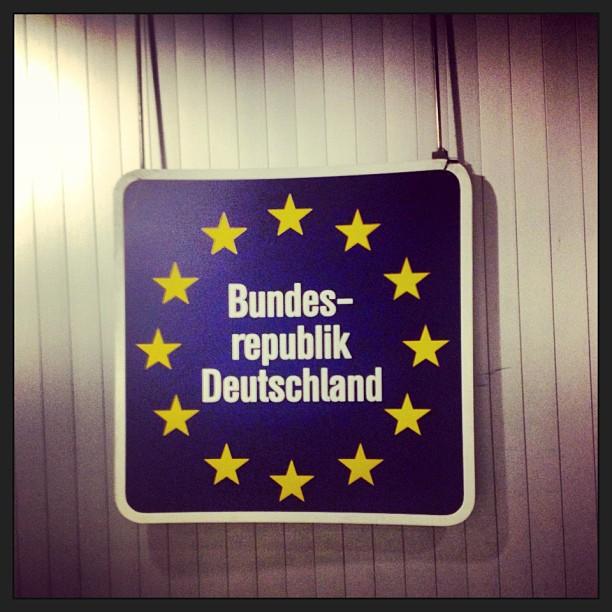 Gutentag! (at Berlin Tegel Airport (TXL))