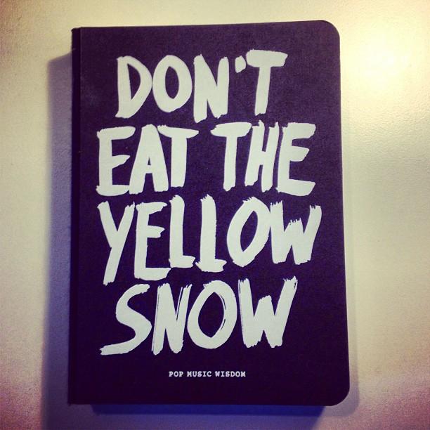 Een goed advies en een goed boek voor vandaag.    Gekocht op  Amazon , maar het ligt ook in de Fnac of in  Het Paard Van Troje .
