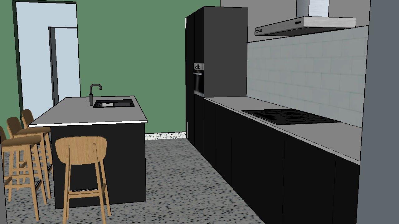 kijk mama, een keuken!