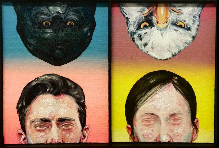 Don't Judge Me   oil on canvas // 24x18cm // 2015