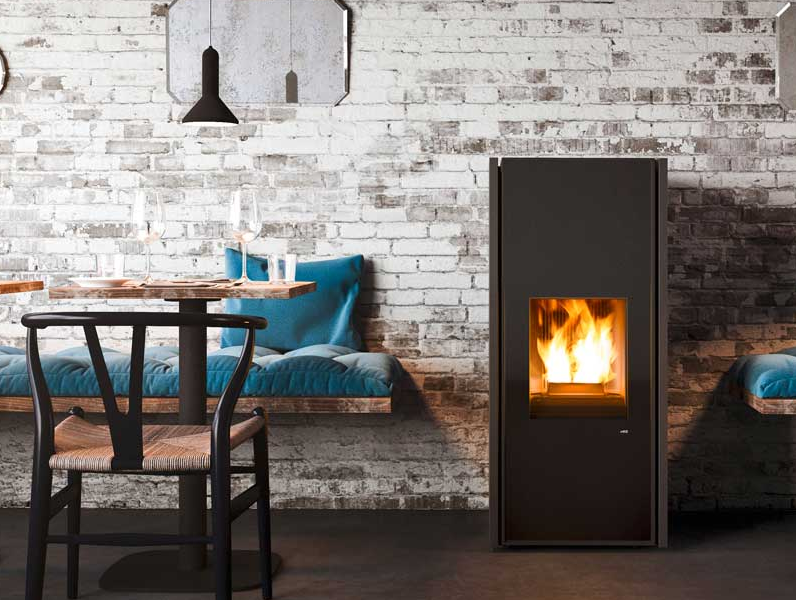 The mechanics of a Pellet Stove Boiler are much the same as the Biomass Pellet boilers but with an added element that they can also heat a room.
