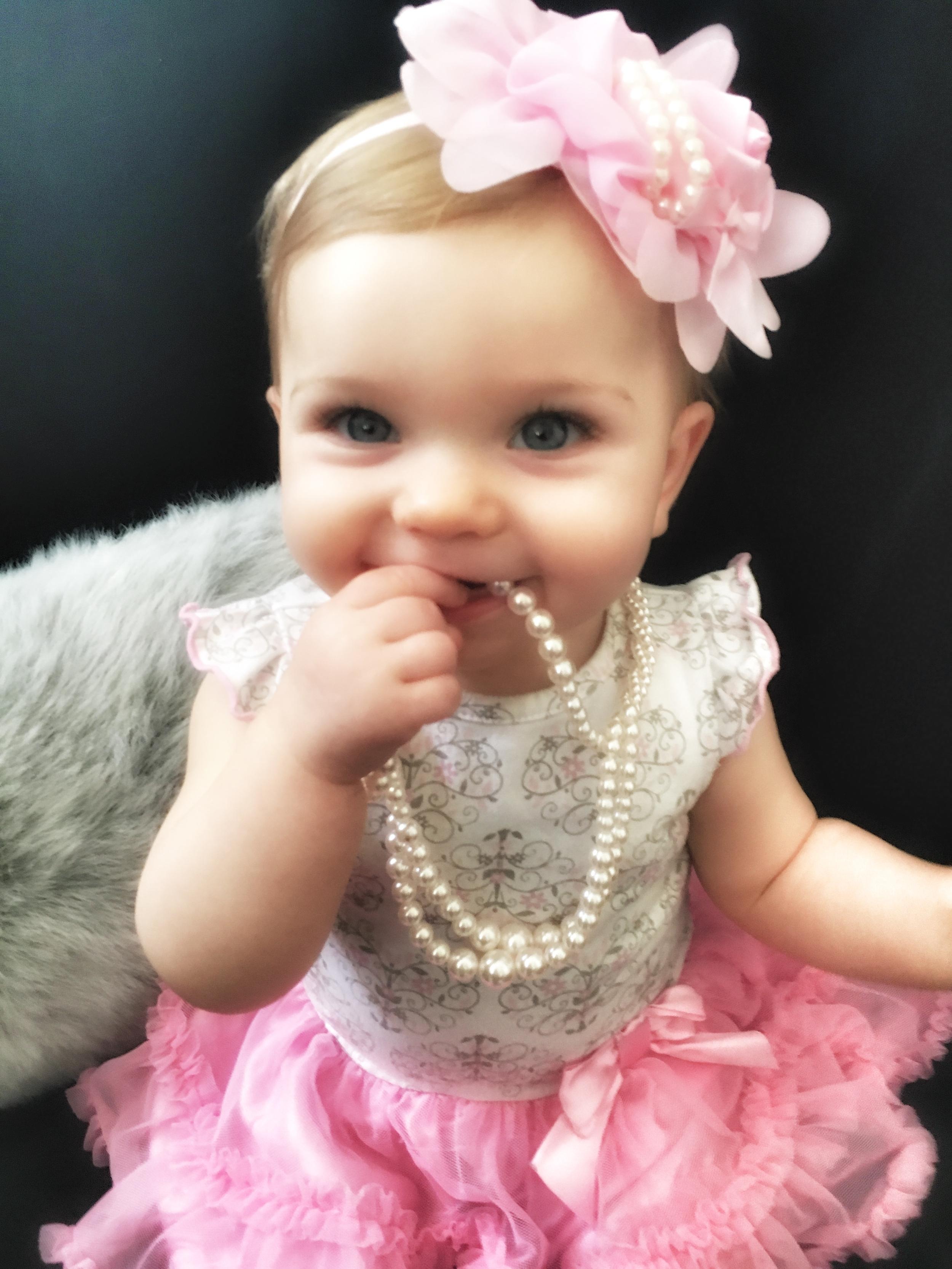 Briella is 11 months old
