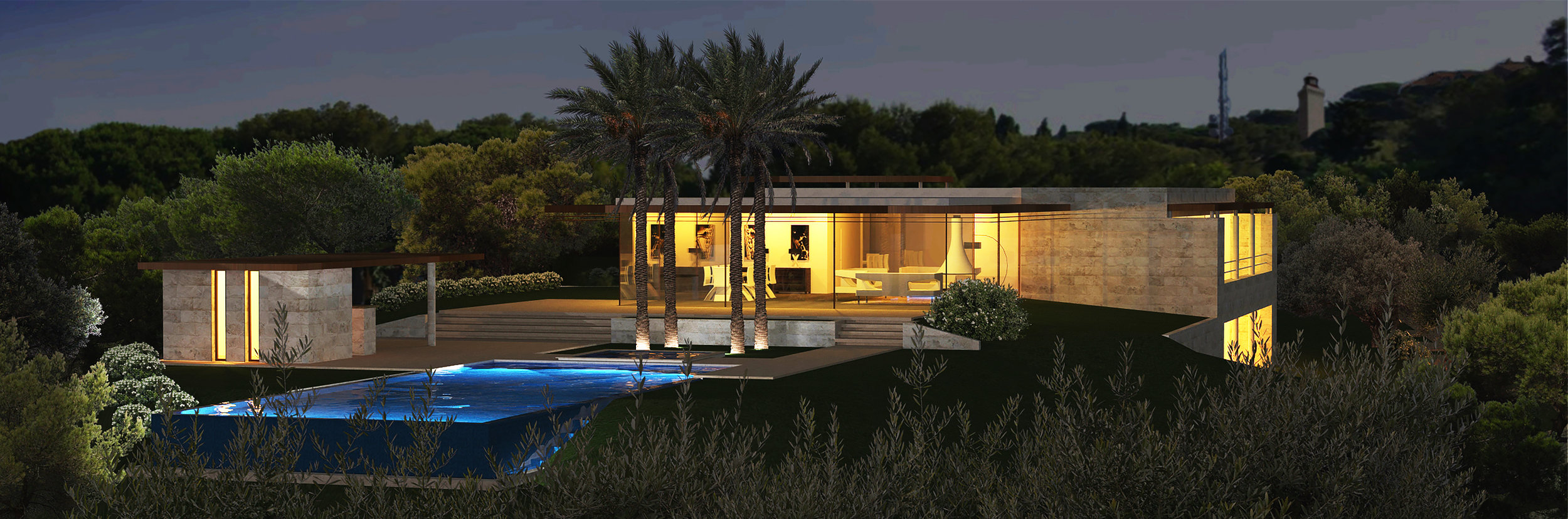 PRIVATE RESIDENCE IN ANTIBES - FR