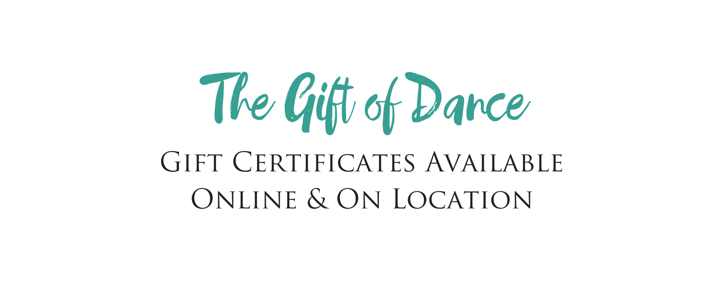 salsa dance gift certificate