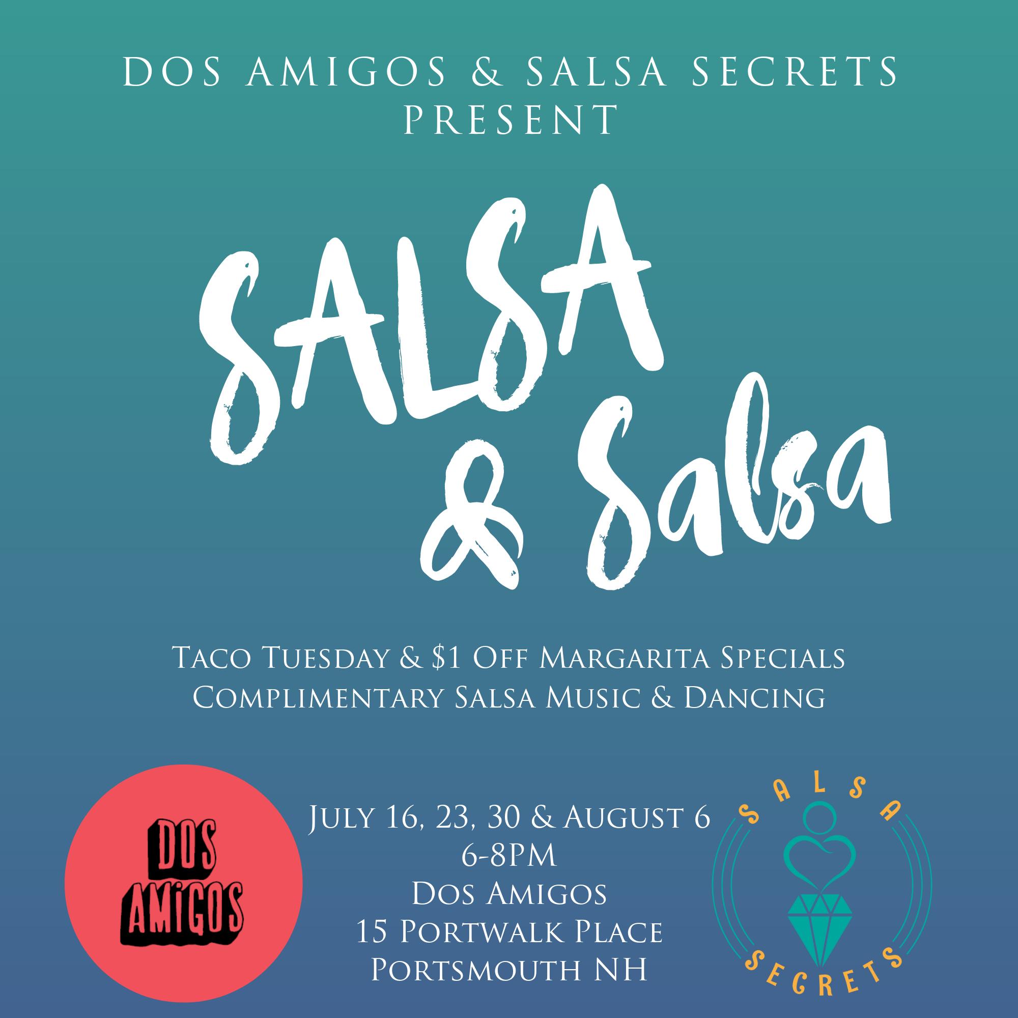 salsa dance dos amigos