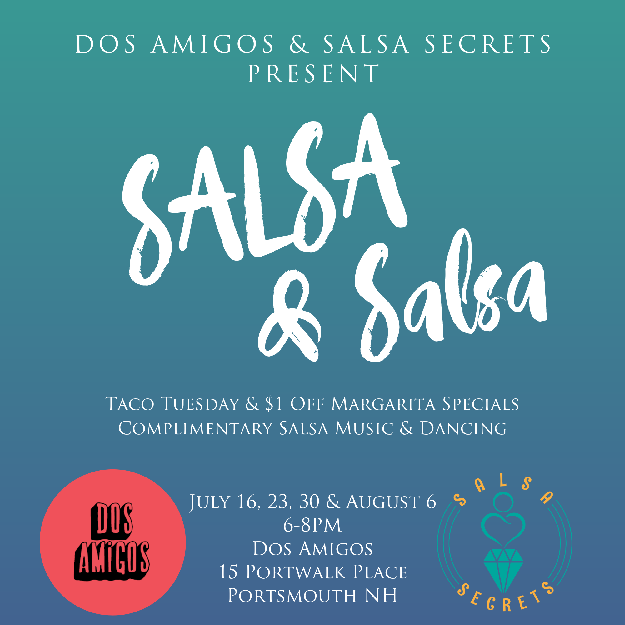 salsa dance portsmouth NH