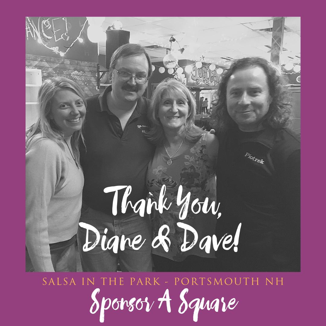 Diane C & Dave P