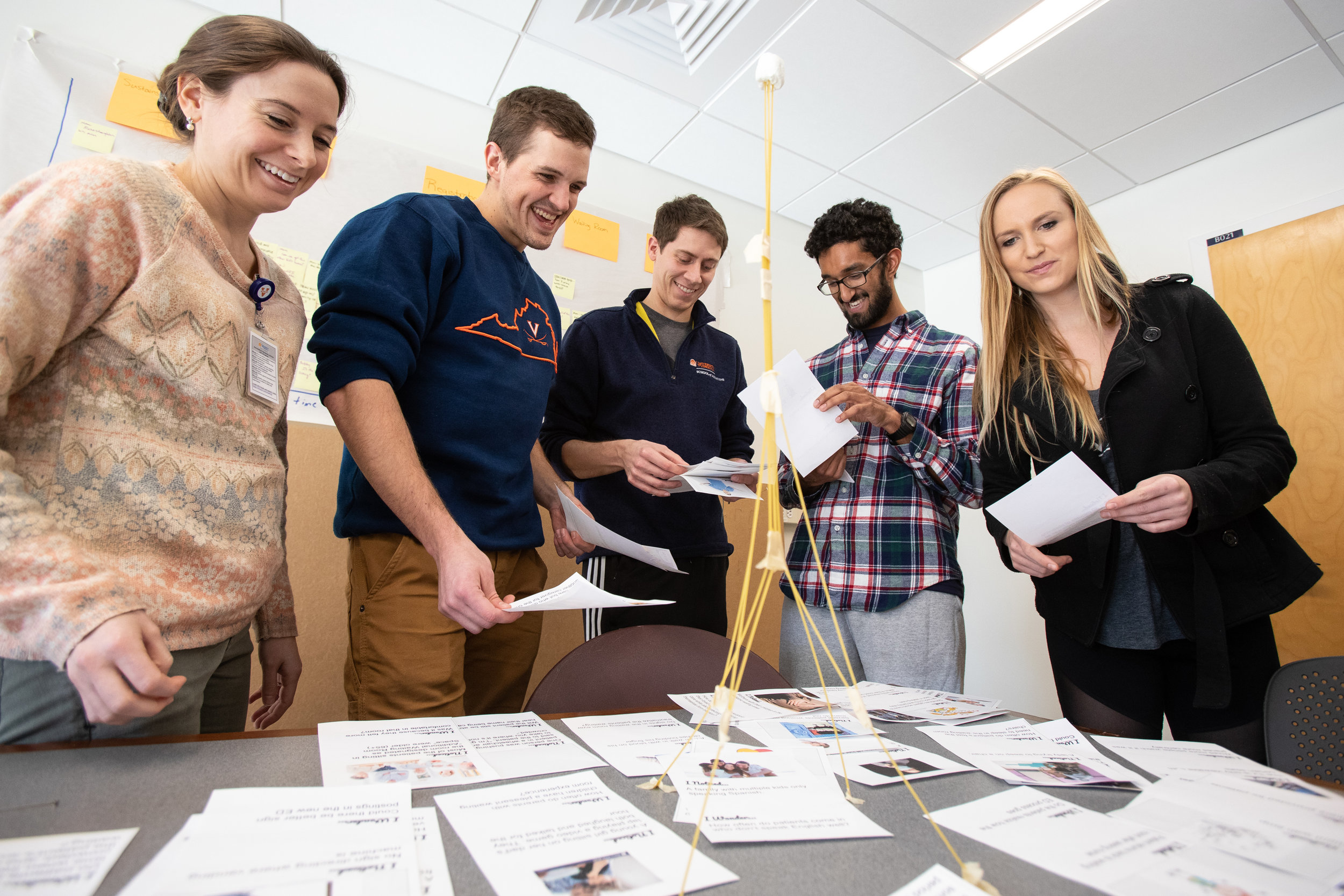 Design + Med ED - UVA is among a growing group of medical schools and health systems exploring how design thinking might be integrated into medical education.
