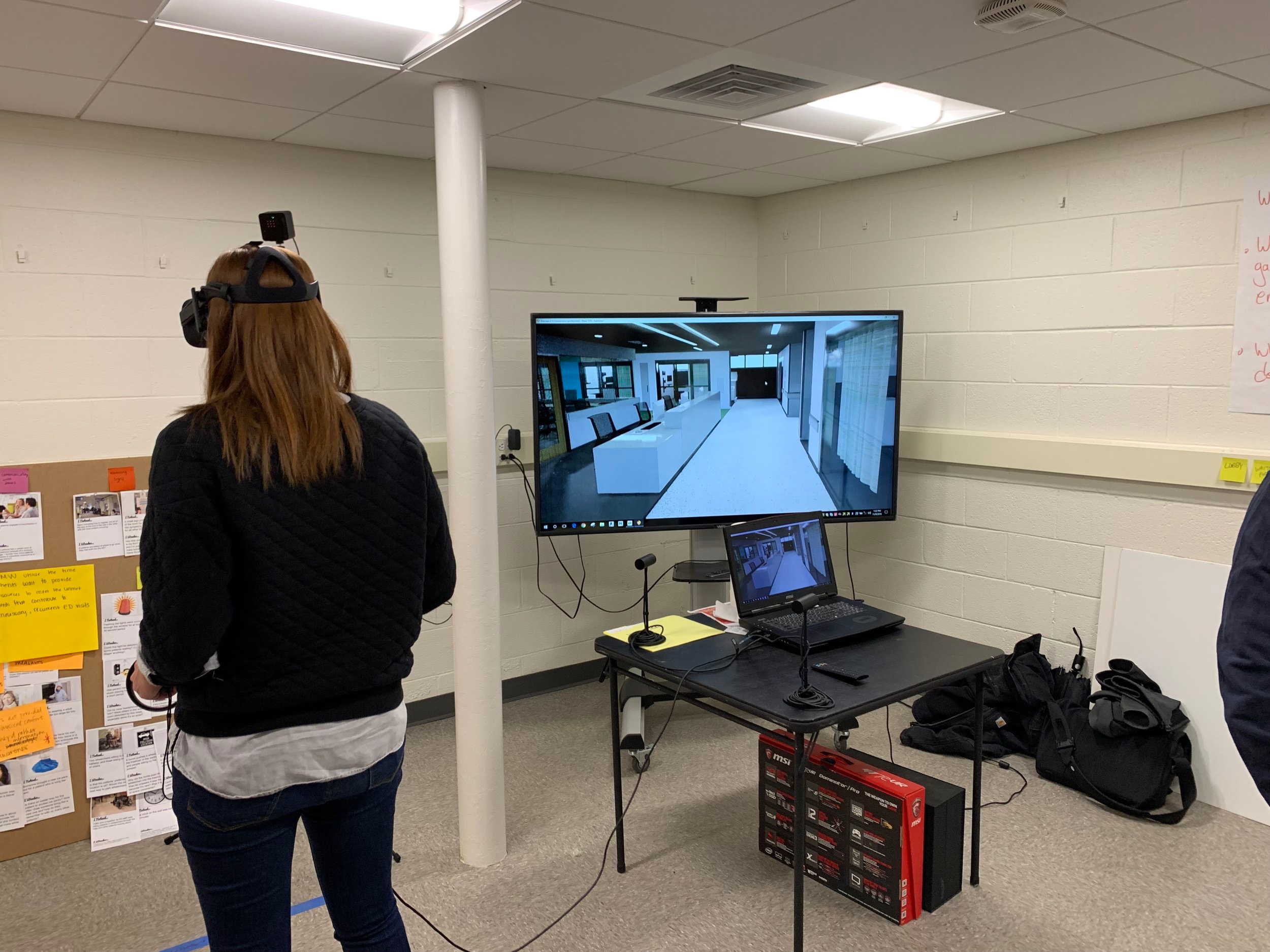 Exploring new ED in VR