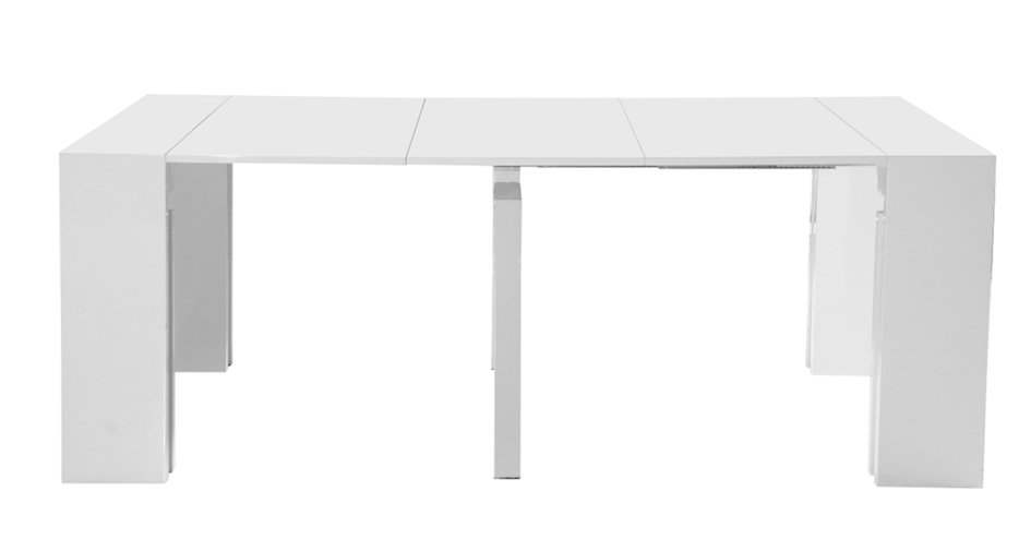 Side View of Full Extension Table