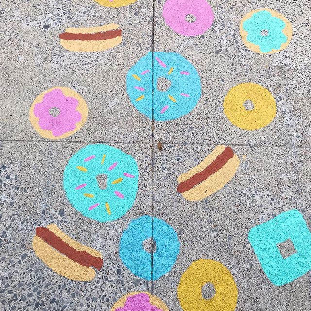 TGIF! Hoping your weekend is full of all the goodness in life. Like donuts and hotdogs!