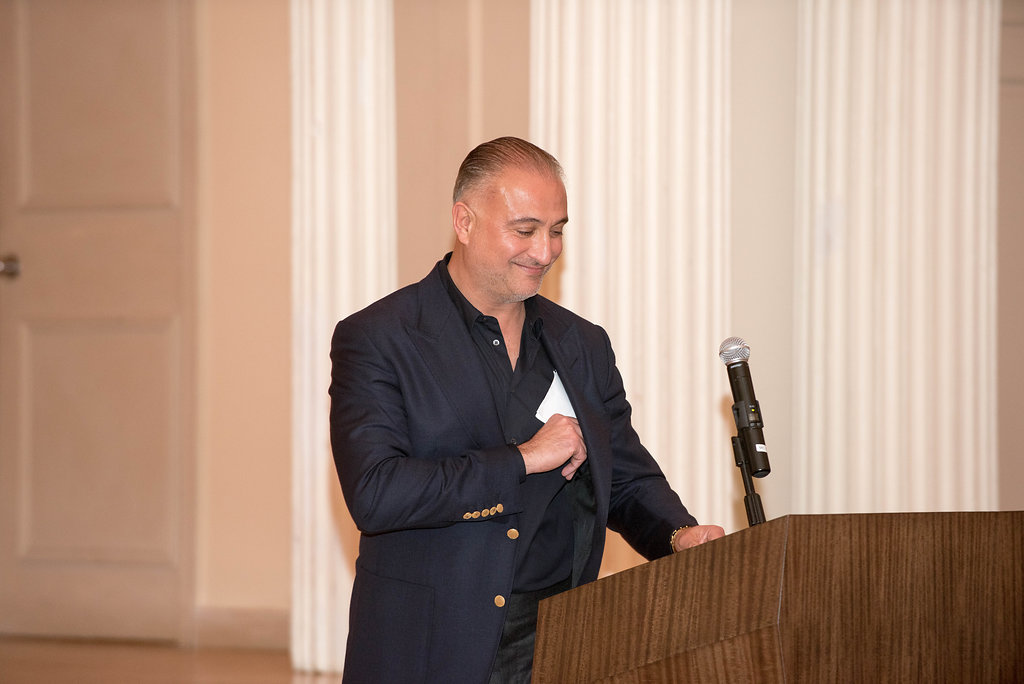 GI Partners of Illinois President Dr. Arkan Alrashid eager to welcome the team (and guests) to this historic occasion.