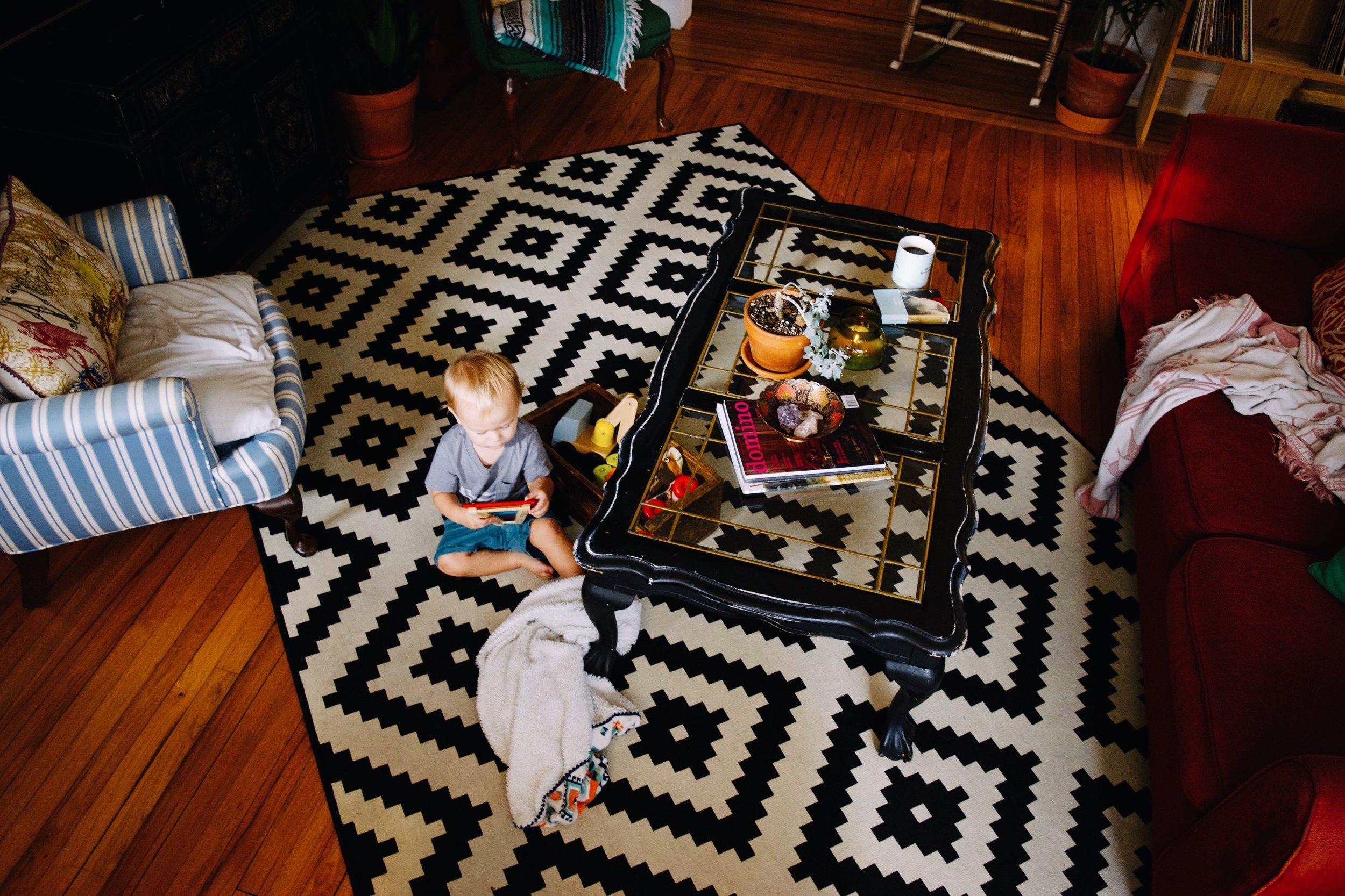 LIVING ROOM - BEFORE & AFTER (Via JacinthaPayne.com)