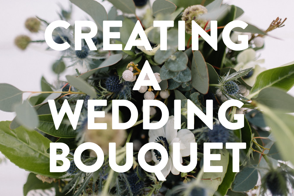 CREATING A WEDDING BOUQUET (Via JacinthaPayne.com)