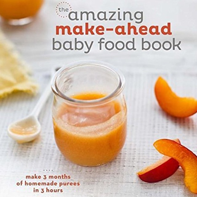 Local author has a new book out. Make 3 months of baby food in 3 hours. #feedthebaby