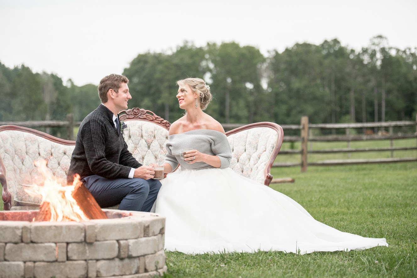 a cozy elopement | a styled shoot