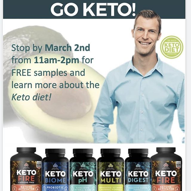 *This Saturday* Come stop by this Saturday March 2nd from 11 to 2 for our exciting Ancient Nutrition demo where we will be giving any samples and $5 coupons on any Ancient Nutrition product. Life Spring and Ancient Nutrition is here to help you look back to move ahead for a healthier lifestyle!  #goancient #bonebroth #nutrition #life