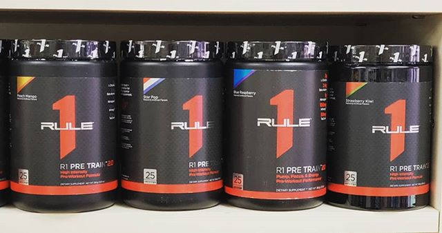 *NEW AT LIFE SPRING* Rule 1 R1 Pre Train 2.0  The next generation of R1 Pre Train pre workout has arrived – and it's more powerful than ever.Zero Creatine, Zero added sugars, Zero fillers, Zero Banned Substances! Come stop by and pick one up! #preworkout #gym #energy