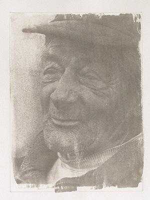 """King of Coal"" 2009. One of my gum bichromate portraits"