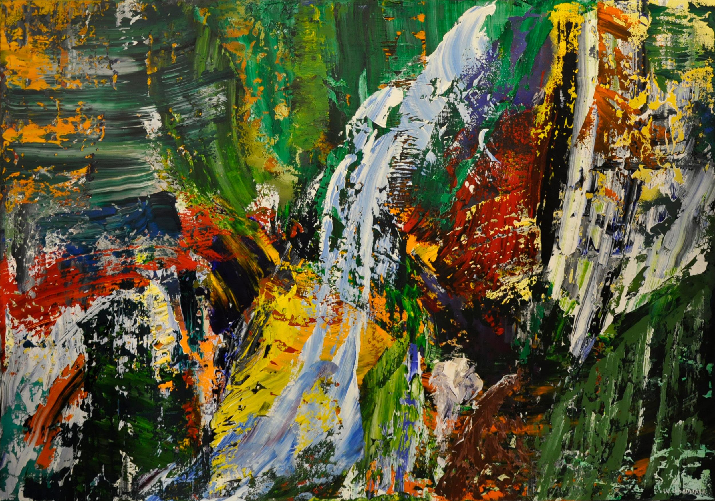 Abstract-Waterfall