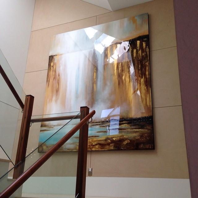 Arnott Golden Falls install 2.jpg