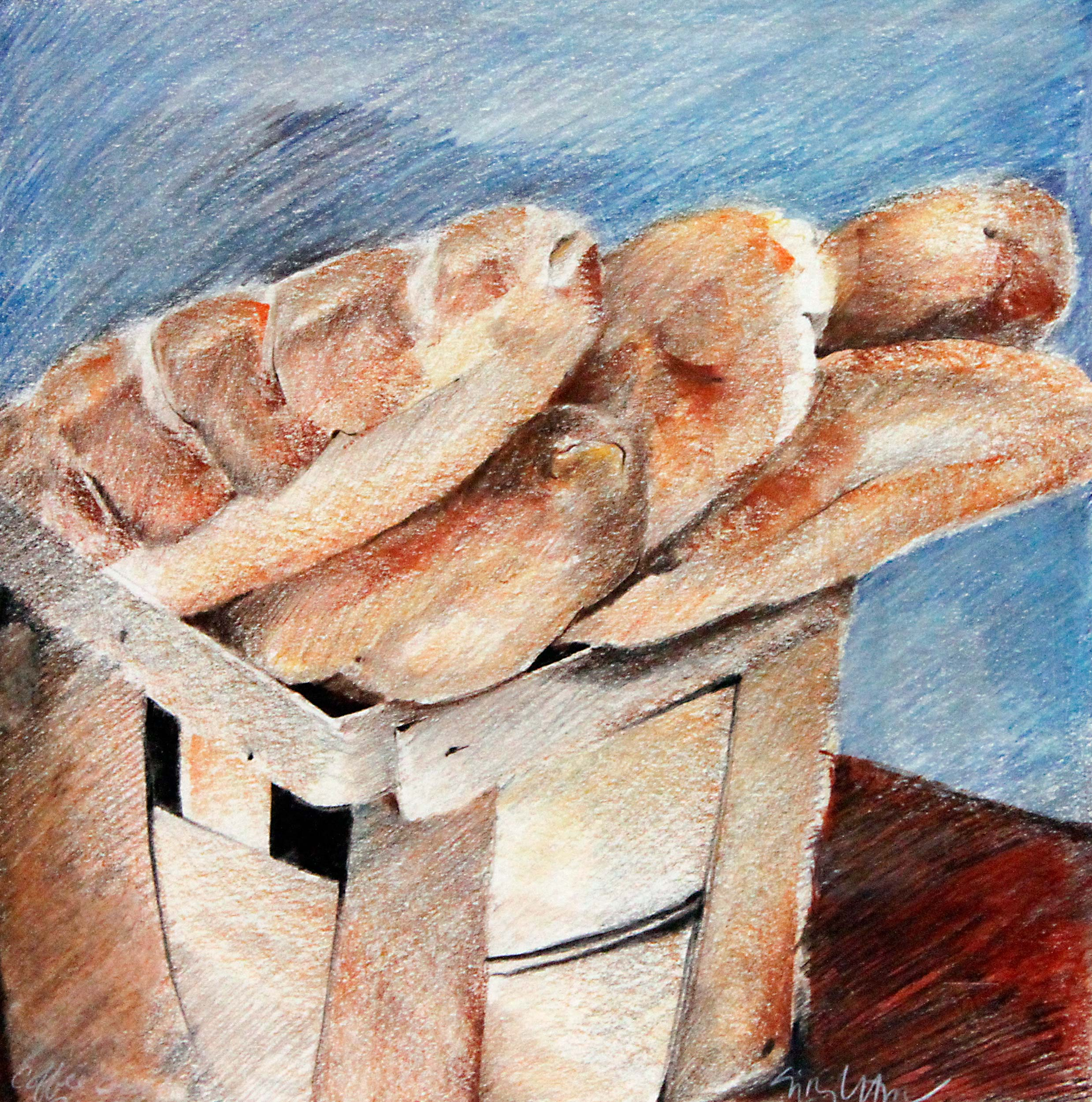 Bread And Basket Out