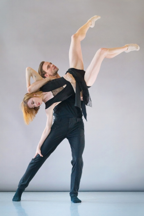 SFDanceworks'Brett Conway and Laura O'Malley; 2017 photo by Andrew Weeks