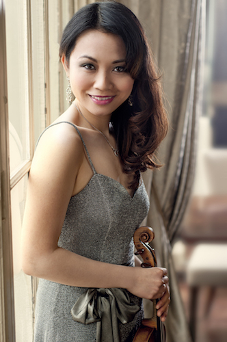 Luosha Fang, violin and viola